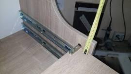 Высота боковой стенки от верхней точки выдвижной полки - 4 см