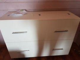 Вязальный стол, цвет - белый